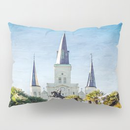 Jackson Square New Orleans Pillow Sham