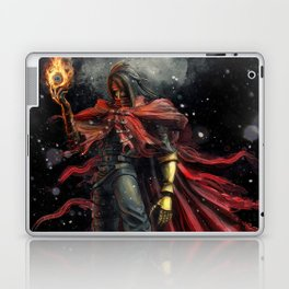 Epic Vincent Valentine Final Fantasy Painting Portrait Laptop & iPad Skin