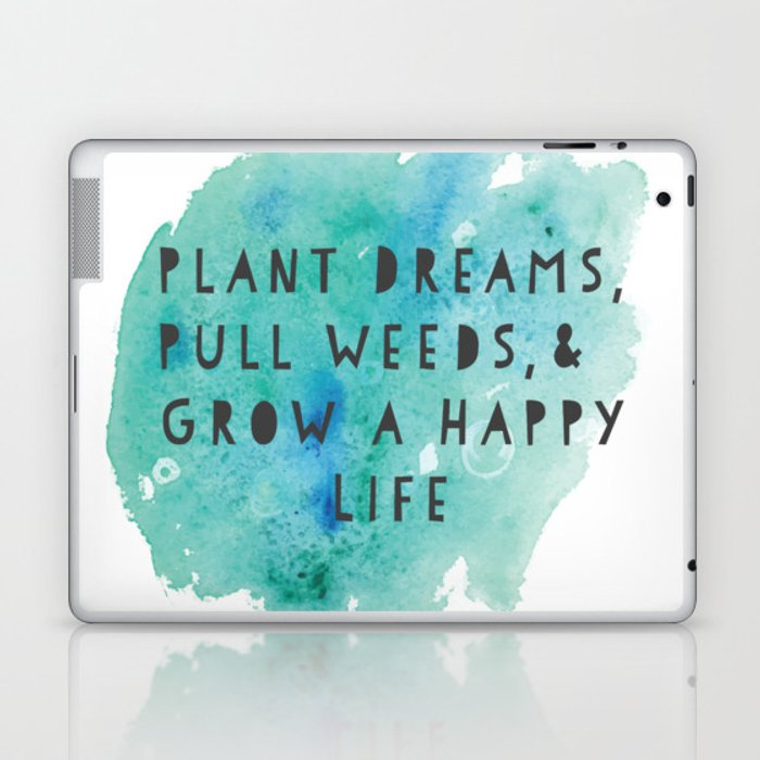 Plant Dreams Laptop & iPad Skin