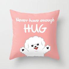 Hug-Bee Throw Pillow