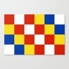 Antwerp flag belgium country region Canvas Print