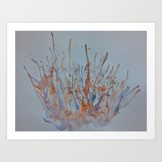Burst Art Print