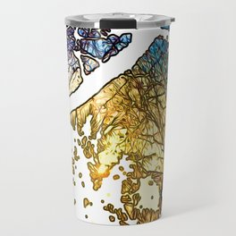 Snowburst by JC LOGAN 4 SB Travel Mug