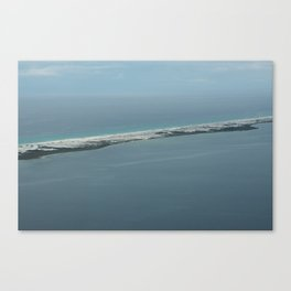 Above the Island Canvas Print