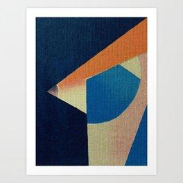 Клюва птицы (The Bird's Beak) Art Print