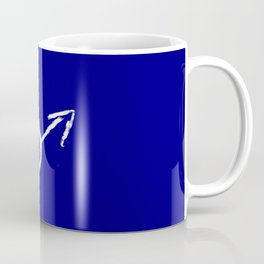symbol of man 10 Chalk version Coffee Mug