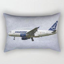 Tarom Airbus A318 Art Rectangular Pillow