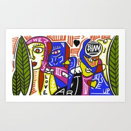 We Art Bham Art Print