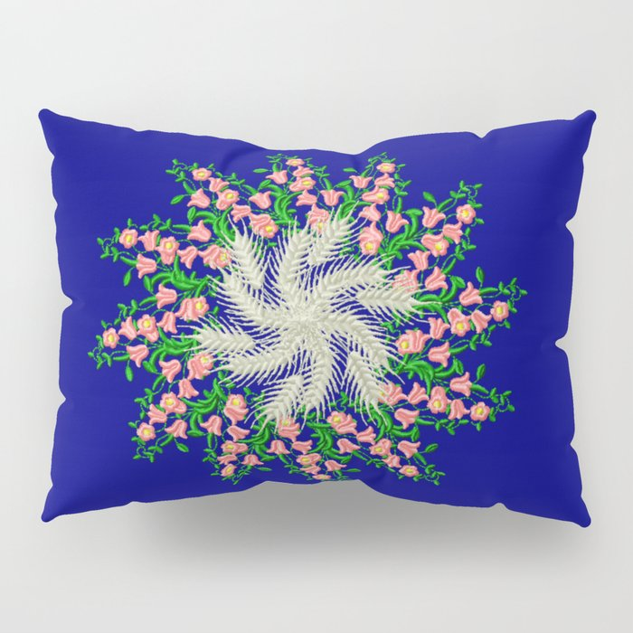 Mandala #103, Wheat, Symbol of Life Pillow Sham