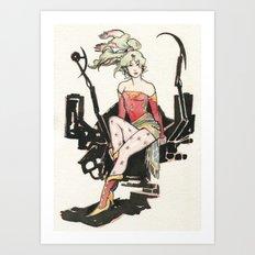 Terra Branford Art Print