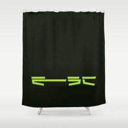 esc / escape Shower Curtain