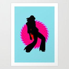 Hot Spot III Art Print