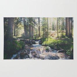 a mountain stream ... Rug