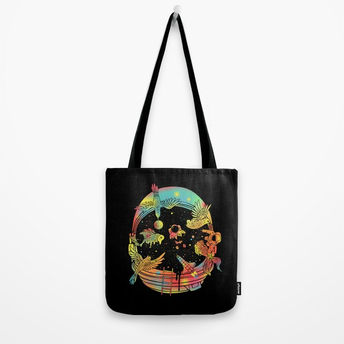 Depth of Discovery (A Case of Constant Curiosity) Tote Bag