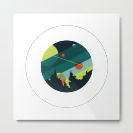 Sea Caverns Were Our Cosmos Metal Print