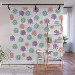 floral pattern xv Wall Mural