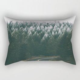 Winter Drive IV Rectangular Pillow
