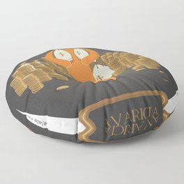 greed Floor Pillow