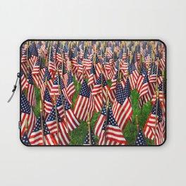 Field Of Flags Laptop Sleeve