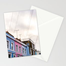 Dreamy Sky over Notting Hill, London Stationery Cards