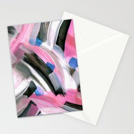 Crossing Pink Stationery Cards