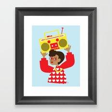 Trini Transistor  Framed Art Print