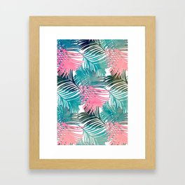 Pattern Jungle Framed Art Print