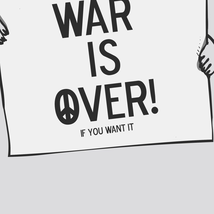 War is over Pugs Leggings