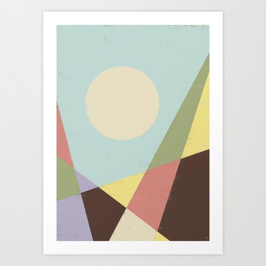 HERE VII Art Print