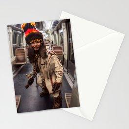 Parisian Mugshots - Little Indian, Big City Stationery Cards