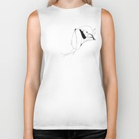 mouth Biker Tanks featuring Mouth by Heiko Hoos