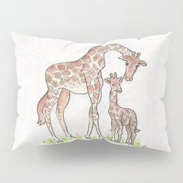 Giraffe and Her Calf Pillow Sham