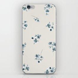 Tossed Flowers iPhone Skin