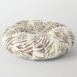 Layered Palm Leaves Floor Pillow
