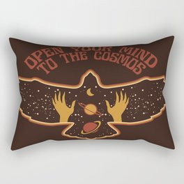 OPEN YOUR MIND TO THE COSMOS Rectangular Pillow