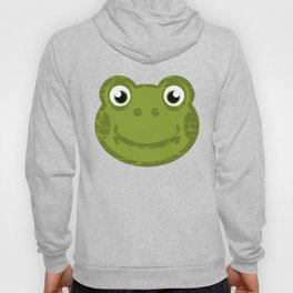 Cute Frog Face Hoody