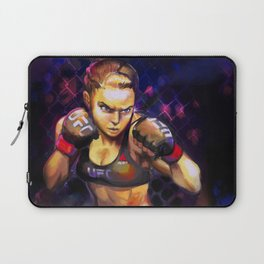 Arm Bar Queen Laptop Sleeve