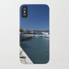 Corfu Fishing Boat Slim Case iPhone X
