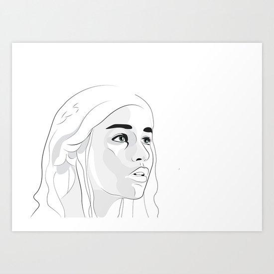 Khal Art Print
