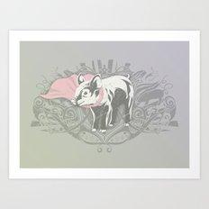 Fearless Creature: Oinx Art Print