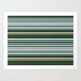 Grey Blue Field Art Print