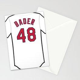 Harrison Bader Jersey Stationery Cards