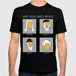 Beer Meets Brains T-shirt
