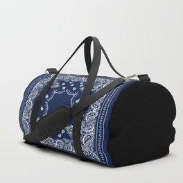 Bandana - Navy Blue - Boho Duffle Bag