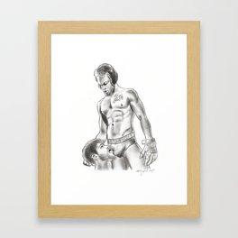 Forttroff art Framed Art Print