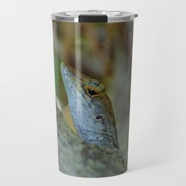 Female anole lizard Travel Mug