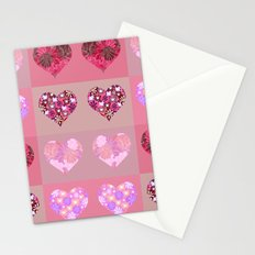 Love and hearts. Stationery Cards