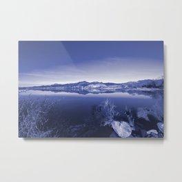 Surreal Landscape - Pahranagat NWR, Nevada Metal Print