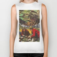 forrest Biker Tanks featuring Forrest People by Chris Minielly