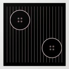 Button 6 Art Print